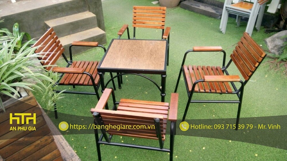 Cung cấp bàn ghế gỗ cafe